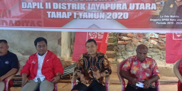 Serap Aspirasi, La Ode Mohitu Kunjungi Warga APO Bukit Barisan