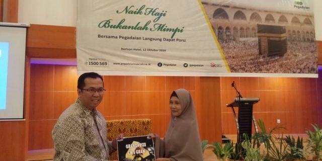 Arrum Haji Pegadaian Bantu Masyarakat Dapatkan Nomor Porsi Haji