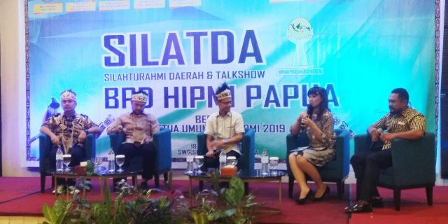 Di Silaturahmi Daerah HIPMI Papua, Bahlil Memperkenalkan Empat Caketum BPP HIPMI