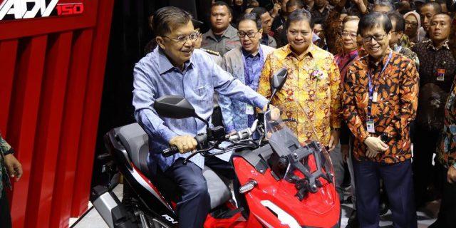 AHM Luncurkan Skutik Penjelajah Jalanan, Honda ADV150
