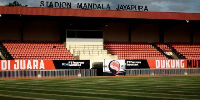 Minggu, PT LIB Verifikasi Stadion Mandala Jayapura