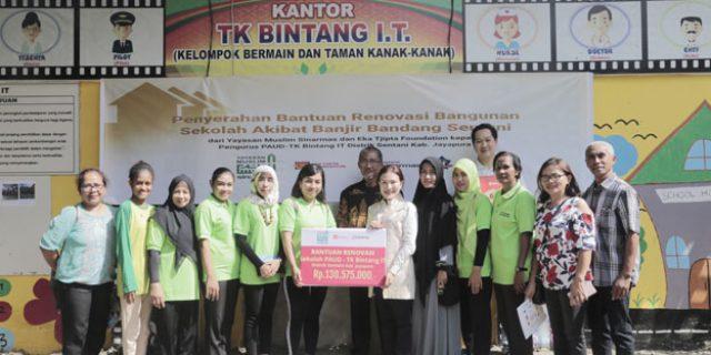 Yayasan Muslim Sinar Mas dan ETF Renovasi Sarana Pendidikan dan Ibadah