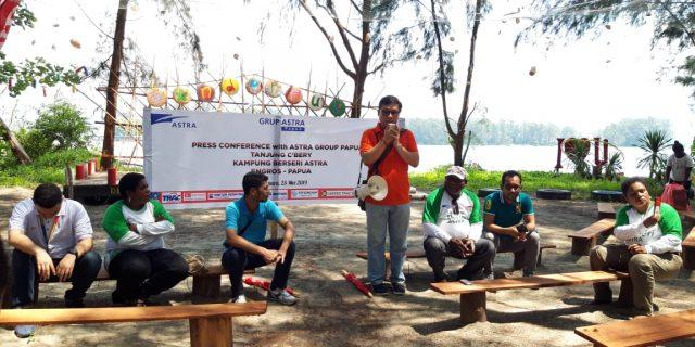 Astra Motor Papua Ajak Jurnalis Jelajahi Kampung Berseri Astra