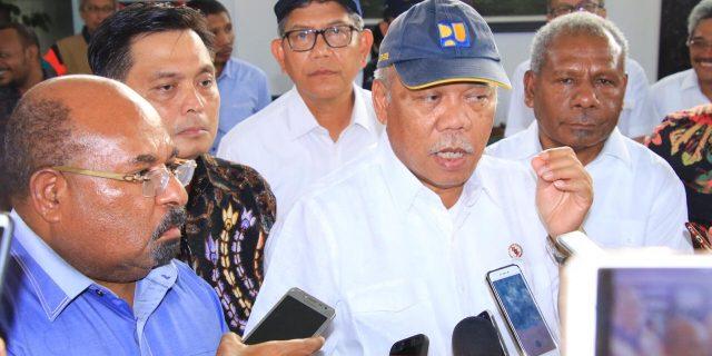 Presiden Instruksikan Kementerian PUPR Bangun Fasilitas Yang Dibakar Massa
