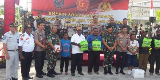 Jasa Raharja dan Kesdam XVII/ Cenderawasih Bakti Sosial di Perbatasan RI – PNG