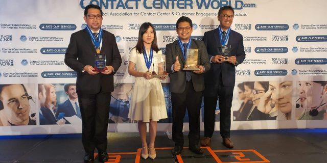 Kontak 157 OJK Raih Emas pada Kompetisi Dunia