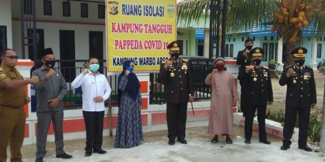 Polda Tetapkan Warbo Jadi Pilot Project Kampung Tangguh Papeda