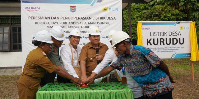 PLN Melistriki 8 Desa di Kabupaten Kepulauan Yapen