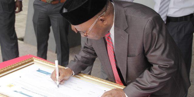 Pegawai PLN UP3 Jayapura Tandatangani Deklarasi Integritas