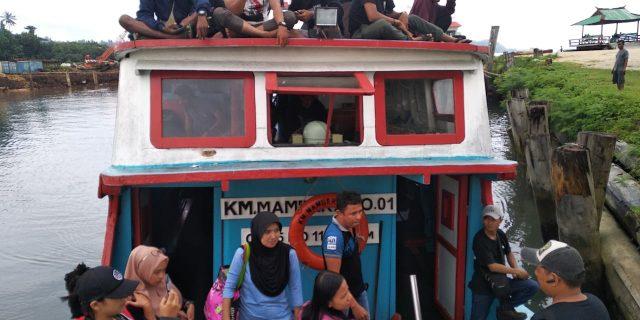 Menerjang Ombak Ke Puncak HUT Bhayangkara, Polres Kepulauan Yapen