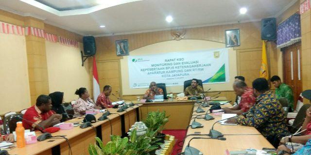 Warga Kota Jayapura Diharapkan Memperoleh Manfaat dari Program BPJS Ketenagakerjaan