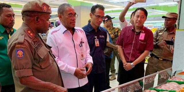 Ini Hasil Sidak TPID Papua Jelang Idul Fitri