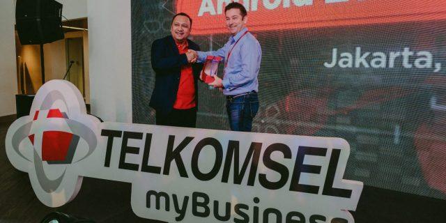 Telkomsel myBusiness Bermitra dengan Google