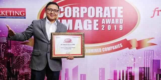 Telkomsel Raih Penghargaan The Best Corporate Image 2019