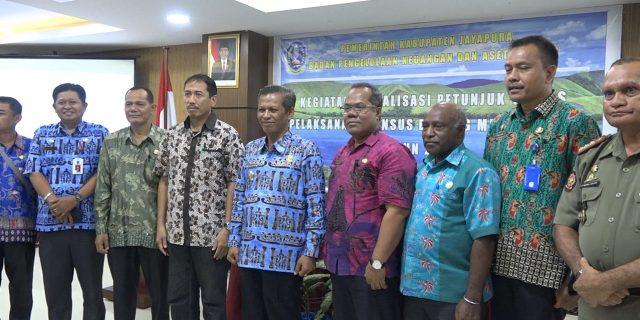 BPKAD Kabupaten Jayapura Berencana Lakukan Sensus BMD