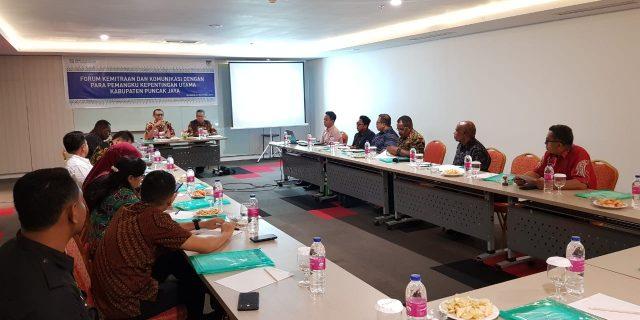 Tingkatkan Mutu Pelayanan,  BPJS Kesehatan dan Pemda Puncak Jaya Gelar Forum Kemitraan