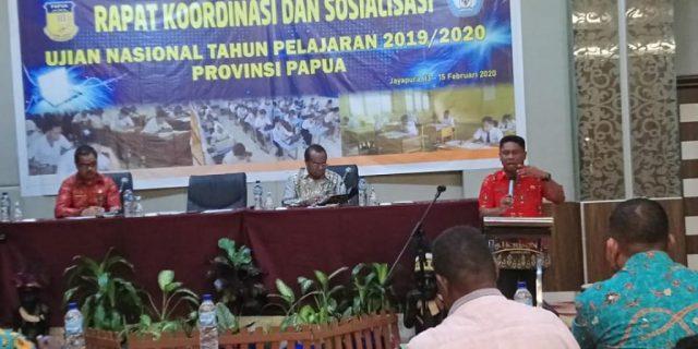Disdik Papua Cek Kesiapan Pelaksanaan UN