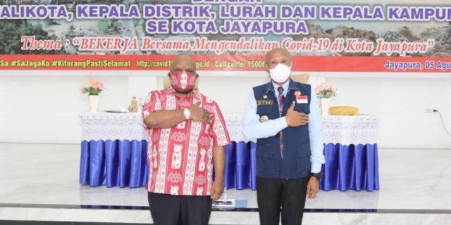 Samakan Persepsi, Wagub Duduk Bersama Wali Kota Dan Kepala Kampung