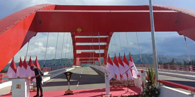 Jembatan Holtekamp Salah Satu Bukti Komitmen Presiden Jokowi di Timur Indonesia
