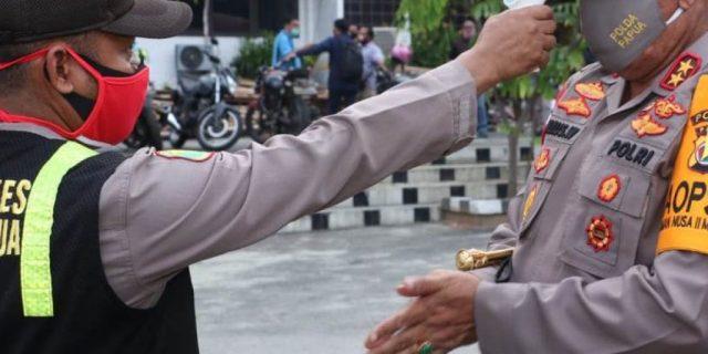 Kapolda Pimpin Bhakti Sosial Dalam Rangka HUT Bhayangkara ke-74