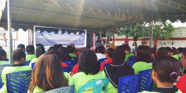 Ini Curhatan Warga Binaan Lapas Perempuan Kelas III Jayapura
