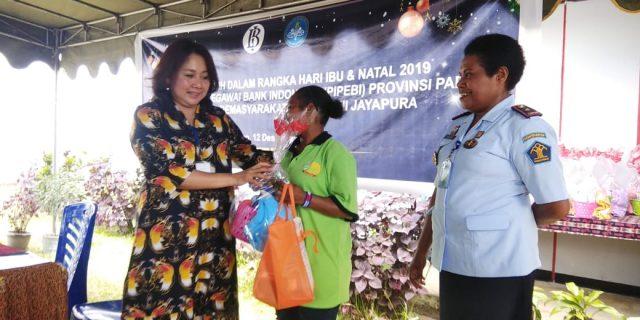 Kunjungi Lapas Perempuan, Ini yang Disampaikan Ketua PIPEBI Papua