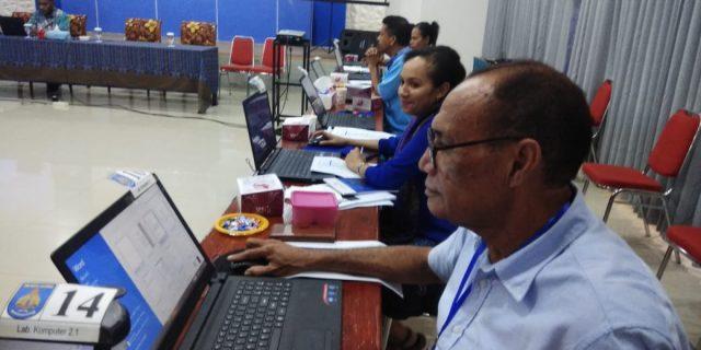 Bank Papua Bekali Ilmu Komputer bagi Pengurus Klasis Port Numbay