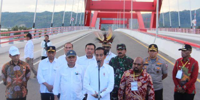 Pemprov Dan Kota Jayapura Diminta Manfaatkan Jembatan Youtefa Kembangkan Potensi Bahari